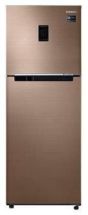 Samsung 324 L 3 star Frost free Refrigerator - RT34M5538DP , Refined bronze