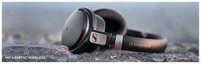 Sennheiser HD 4.50 BT Over-ear Bluetooth Headsets ( Black )