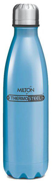 Milton Thermosteel Duo DLX 24Hour Hot & Cold Bottle;1-Piece;1000 ML;Blue