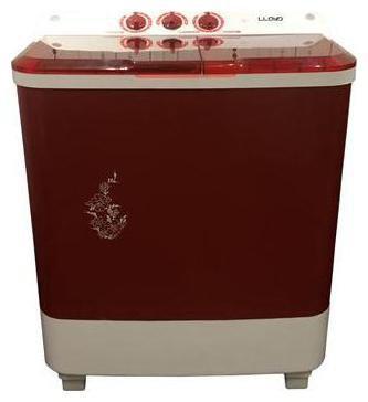 Lloyd 6.5 Kg Semi automatic top load Washing machine - LWMS65RP , Brown