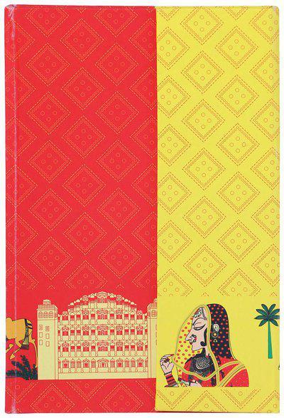 208 Flap Diary Bandhej Rajasthan India