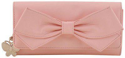 Butterflies Women s Wallet Baby Pink BNS 2397BPK