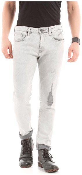 Ed Hardy Men's Slim Fit Jeans (8907259699820_ehjn0190_32w X 32l_grey)