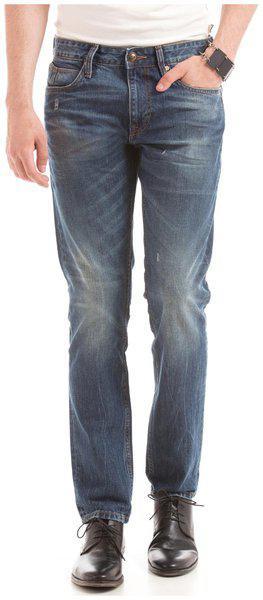 Ed Hardy Men's Slim Fit Jeans (8907259698298_ehjn0178_34w X 32l_indigo)