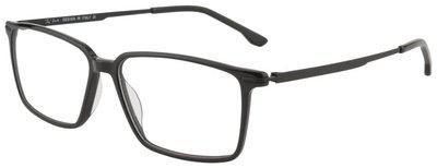 Ted Smith Black Aviator Full Rim Eyeglasses for Men