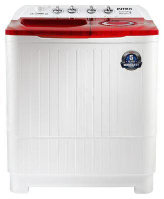 INTEX 7.5 Kg Semi automatic top load Washing machine - WMSA80AR
