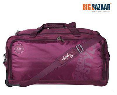 Skybags Casper Wheel Duffle 67cm (Purple) Travel Duffel Bag(Purple)