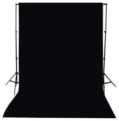 SHOPEE 8 x12 FT BLACK LEKERA BACKDROP PHOTO LIGHT STUDIO PHOTOGRAPHY BACKGROUND