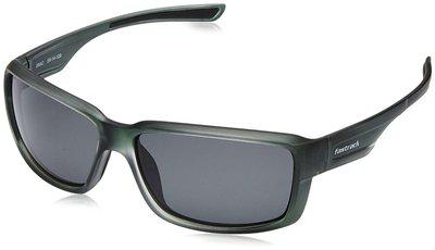 Fastrack Black Men's Wrap Around Sunglasses