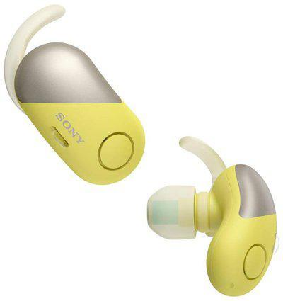 Sony WF-SP700N Y In-ear Bluetooth Headsets ( Yellow )