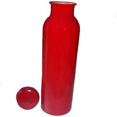 DVM Copper Red Water Bottle ( 900 ml , Set of 1 )