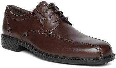 Clarks Bardwell Walk Brown Derby Shoes