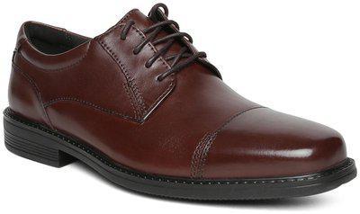 Clarks Men Brown Formal Shoes