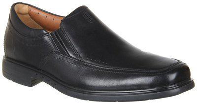 Clarks Men's Form Easy Black Leather Formal Shoes