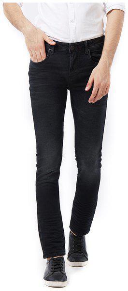 Killer Men High rise Tapered fit Jeans - Black
