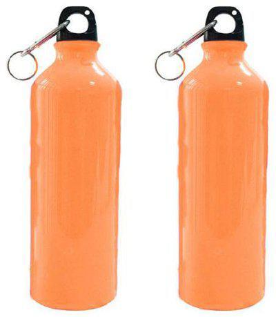 Meenamart Travel friendly Water Bottle Set of 2