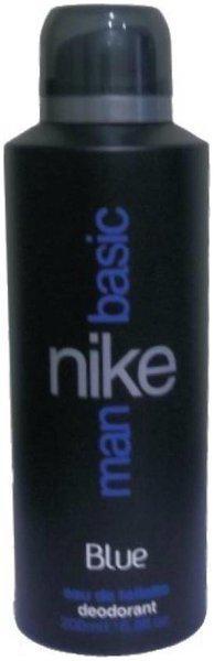 Nike Basic Blue Deodorant Spray - For Men (200 Ml)