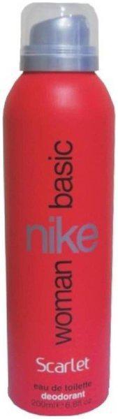 Nike Woman Basic Scarlet Deodorant Spray - For Women (200 Ml)