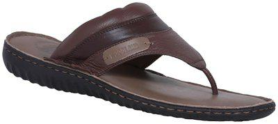 Woodland Men's Rust Brown Leather Sandals/India (44 EU) (OGP 2702117)