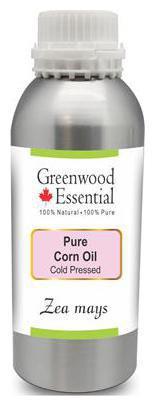 Greenwood Essential Pure Corn Oil (Zea mays) 100% Natural Therapeutic Grade Cold Pressed 630ml
