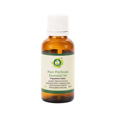 R V Essential Pure Patchouli Essential Oil 15Ml- Pogostemon Cablin (100% Pure And Natural Steam Distilled)