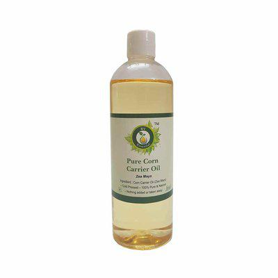 R V Essential Pure Corn Carrier Oil 200Ml- Zea Mays (100% Pure And Natural Cold Pressed)