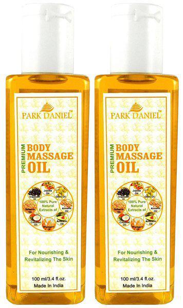 Park Daniel Premium Body Massage Oil Combo Of 2 Bottles Of 100 ml (200 ml )