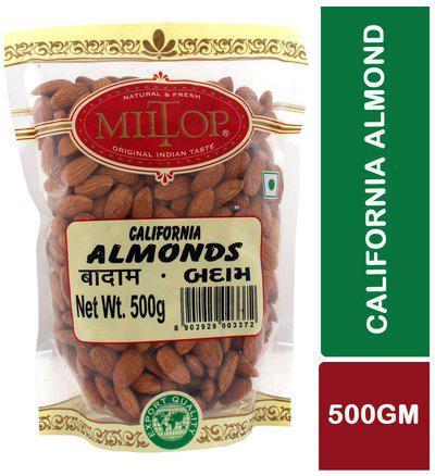 Miltop California Almonds 500 g