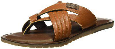BATA Men's Flash Toe Ring Tan Hawaii Thong Sandals/India (44 EU) (8713439)