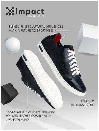 Alberto Torresi Men's Boat Shoes-10 Uk (44 Eu) (59651 Navy+white)