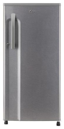 LG 188 L 3 star Frost free Refrigerator - GL-B191KDSW , Dazzle steel