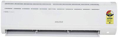 Voltas 1.5 Ton 3 Star Split AC (183 DZZ,White) with Copper Condenser