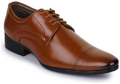 Bruno Manetti Tpr Lace Up For Men(tan)