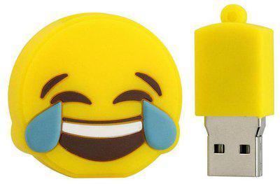 PANKREETI Designer Pen Drive 32 GB USB 2.0 Yellow