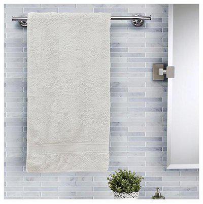 Maspar 420 GSM Cotton Bath towel ( 1 piece , Beige )