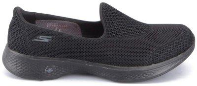 Skechers Women's GO WALK 4 - PROPEL Black Running Shoes