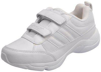 Sparx Kids White School Shoes SM-515-10C