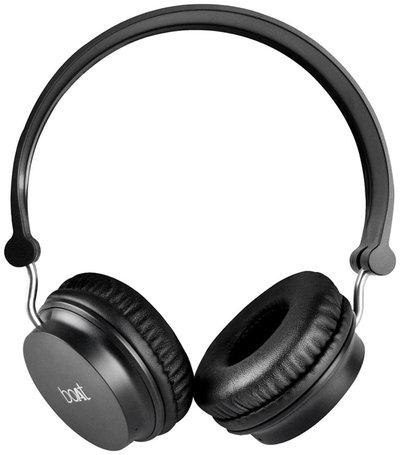 boAt Rockerz 400 Super Extra Bass On-Ear Bluetooth Headphones with Mic (Black)