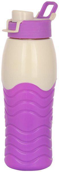 Jayco 750 ml Plastic Purple Water Bottles - Set of 1