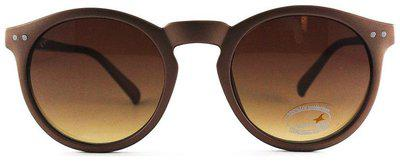Fastrack Polarized lens Round Frame Sunglasses for Men