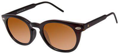 David Blake Polarized lens Round Frame Sunglasses for Men - 1