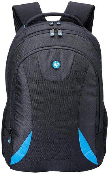 HP Black Polyester Backpack