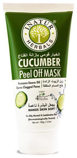 Inatur Cucumber Peel-Off Face Mask 150 gm