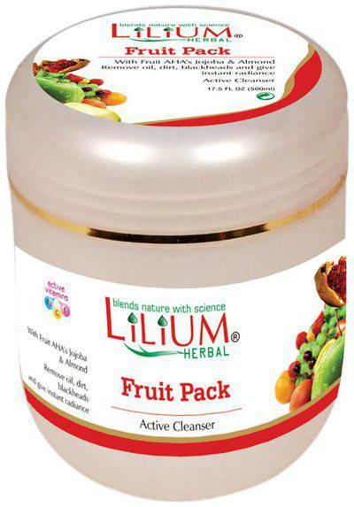 Lilium Fruit Active Cleanser Pack 500ml