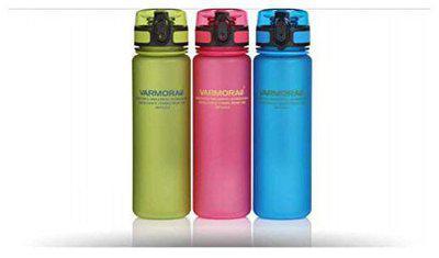 Varmora Bottles Water Swig Stylish, Transparent & Trendy, BPA Free Easy Open 500 ML