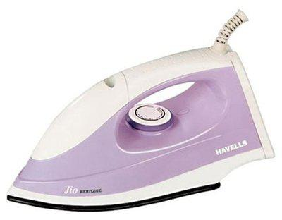 Havells Jio Heritage 1000 W Dry Iron (Purple)