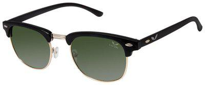 Cardon Green Clubmaster Gradient Polarised UV Protected Sunglass