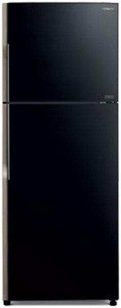 Hitachi 415 L 2 star Frost free Refrigerator - R-VG440PND3- (GBK) , Glass black