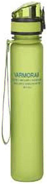 Varmora 500 ml Plastic Green Fridge Bottles - Set of 1