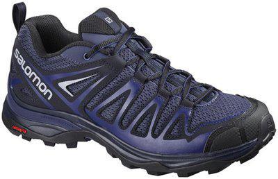 Salomon L40125400 Synthetic X Ultra 3 Prime Women's Hiking Shoe, 6 Uk, (blue)